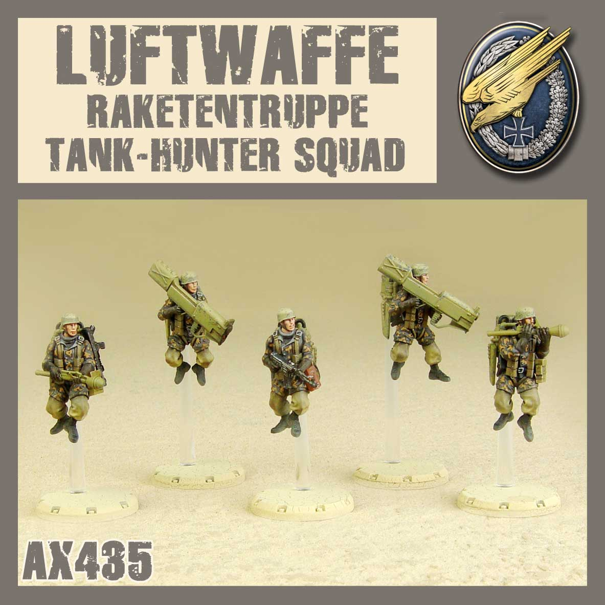 Raketentruppe Tank Hunter Squad