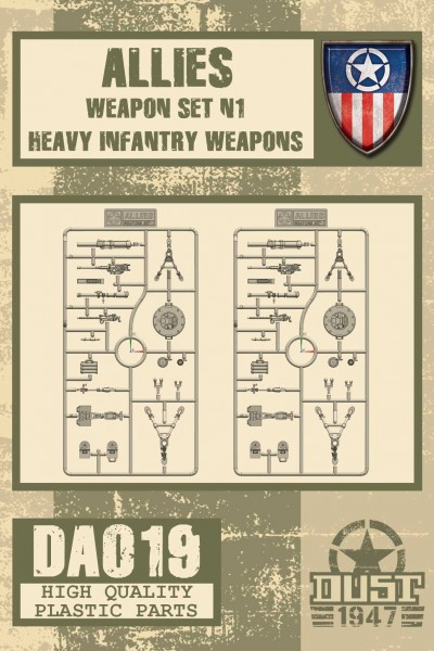 Allies Heavy Weapon Set 1