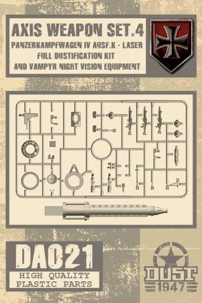 Zestaw Broni Osi Wz. 4 (Axis Weapons Set 4)