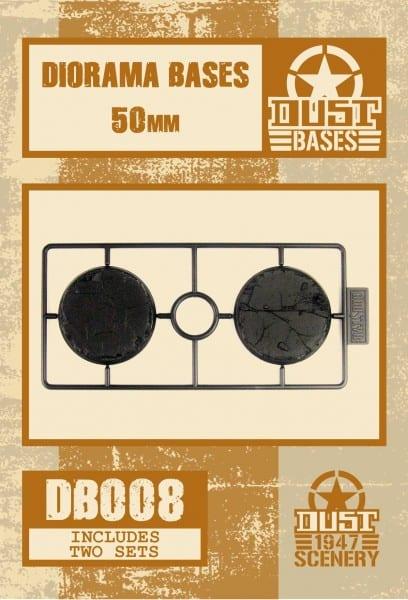 MEDIUM DIORAMA 50mm BLACK BASES