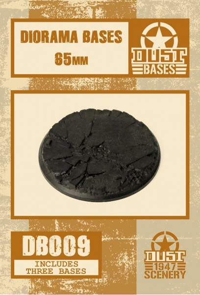 MEDIUM DIORAMA 65 MM BLACK BASES