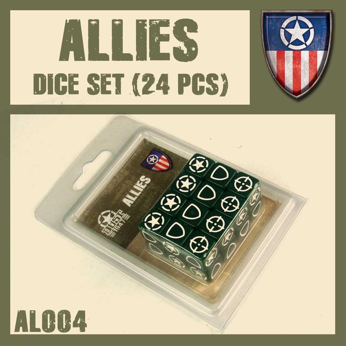 ALLIED DICE SET