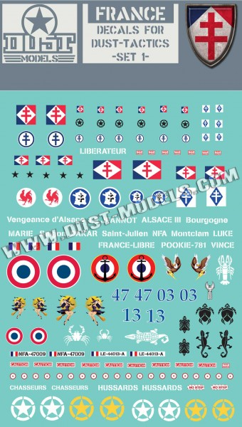 France decals
