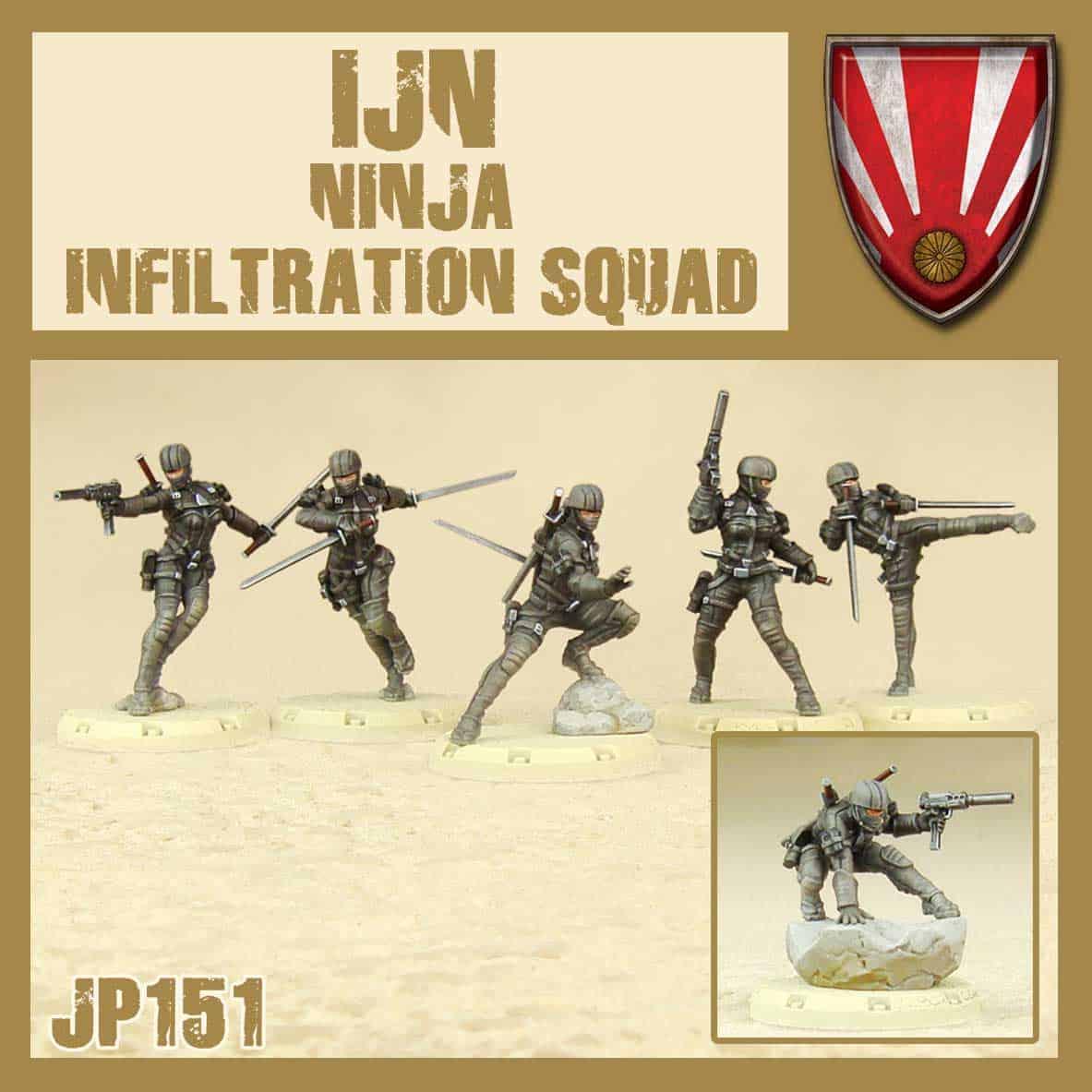 Zdjęcie Ninja Infiltration Squad