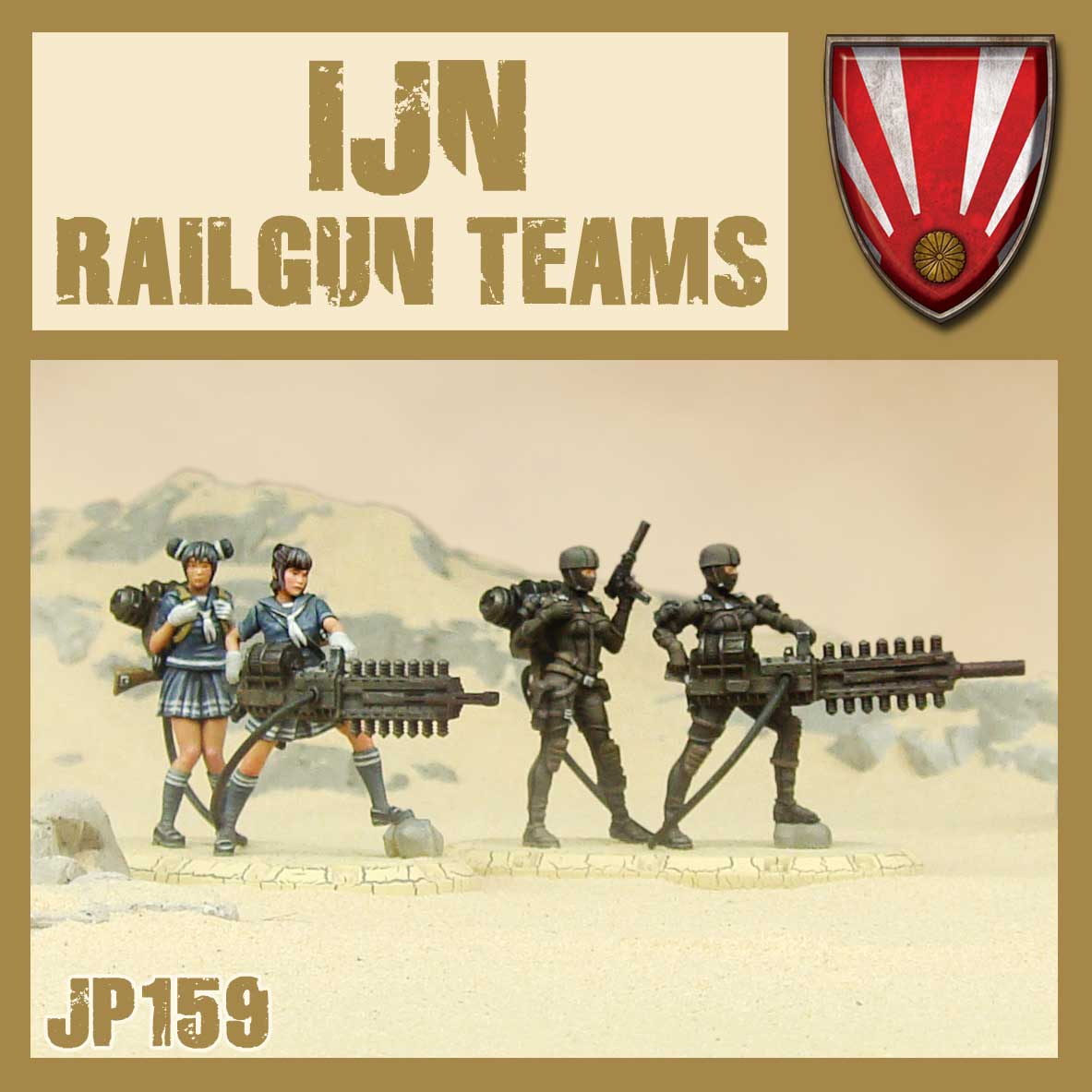 IJN Railgun Teams