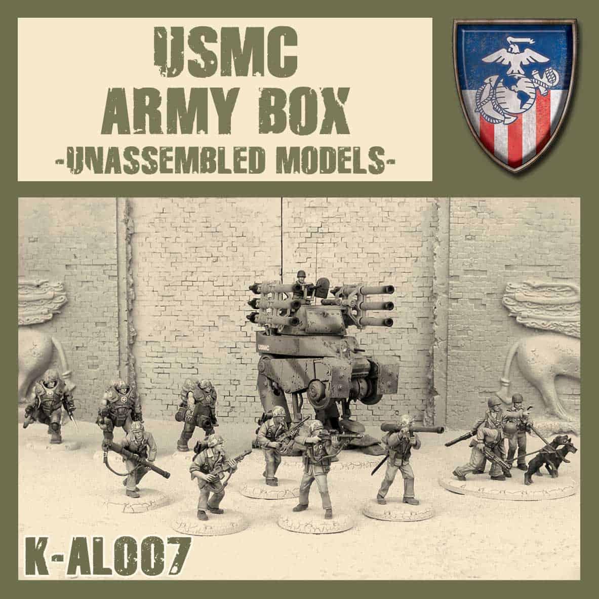 Zdjęcie USMC Army Box Kit