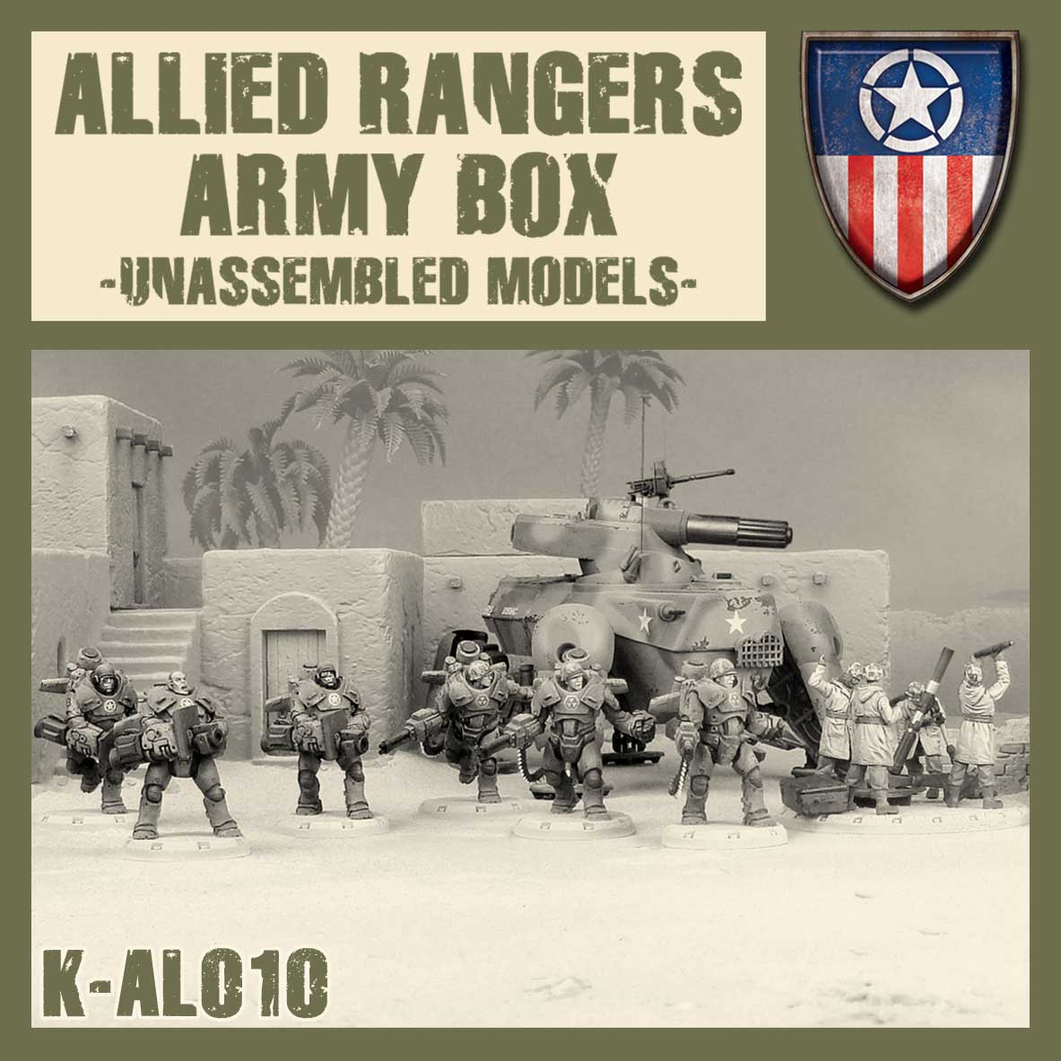 Allied Rangers Kit