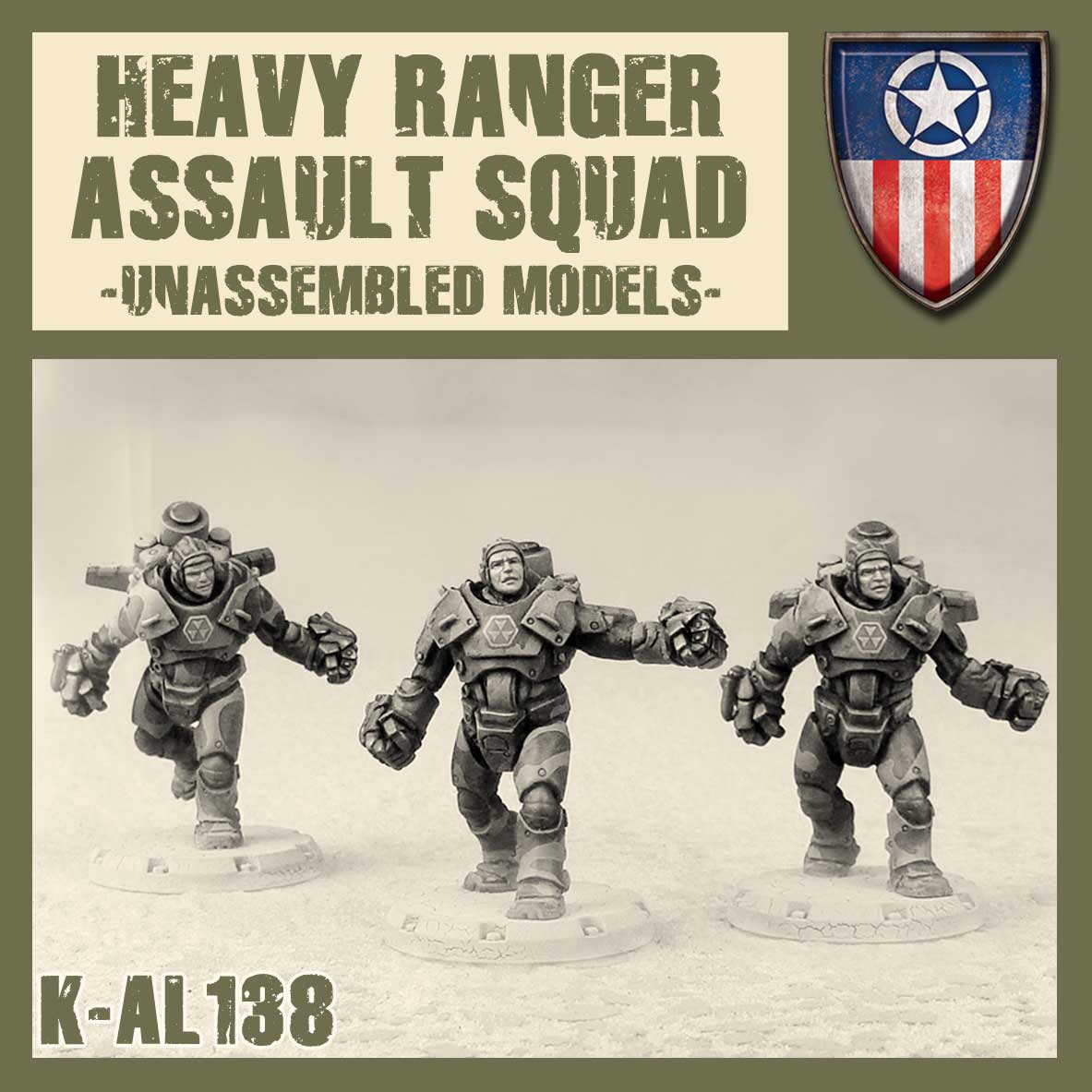 Heavy Ranger Assault Squad Kit