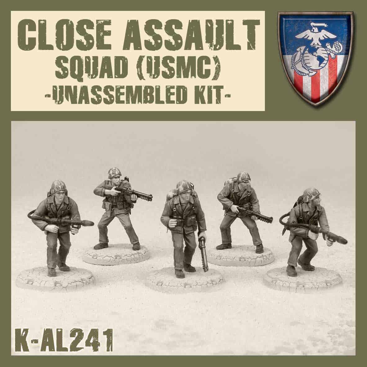 Zdjęcie USMC Close Asault Squad Kit