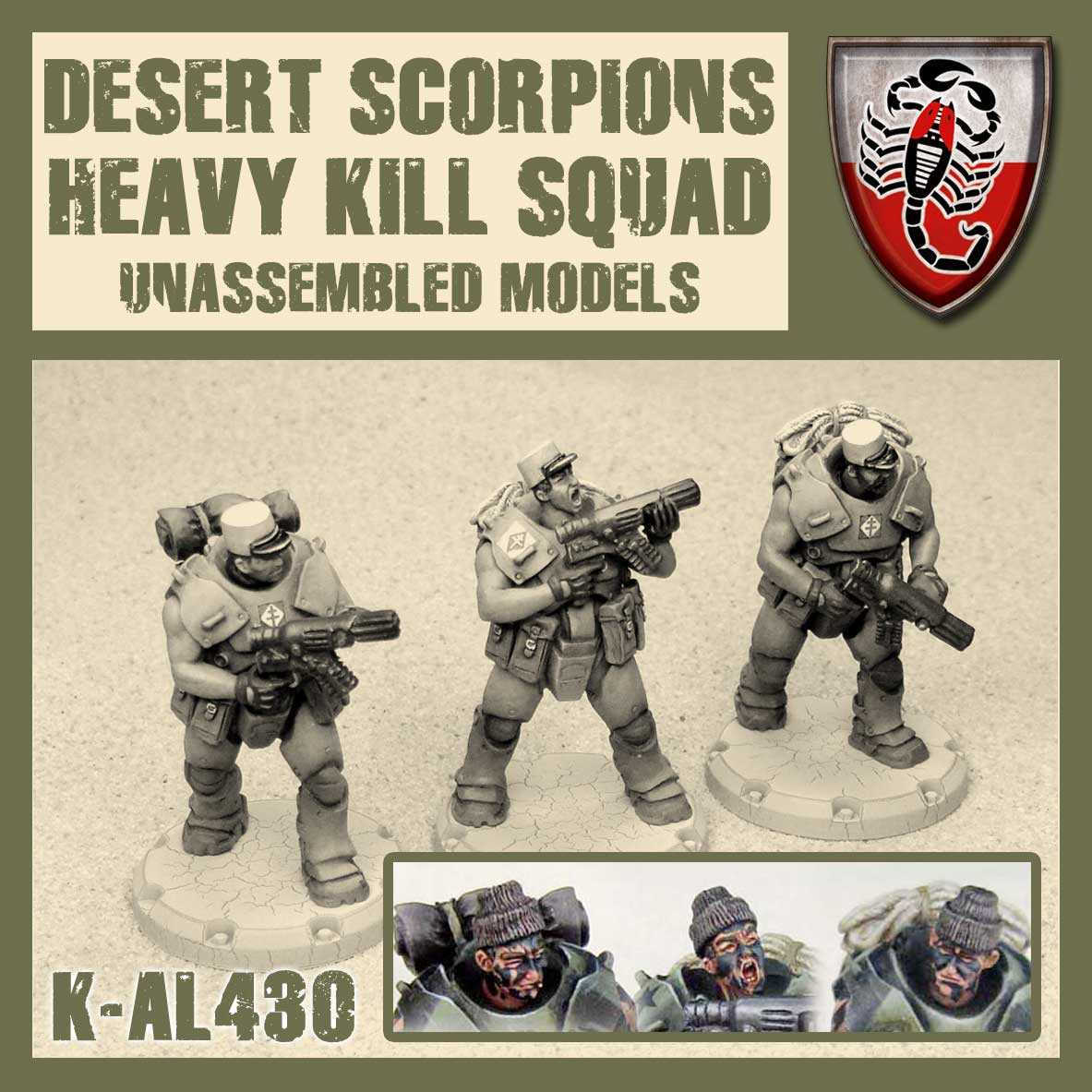 DS Heavy Kill Squad Kit