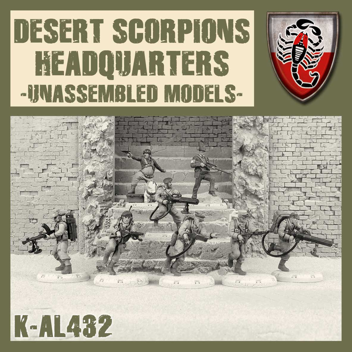 Desert Scorpion HQ Kit