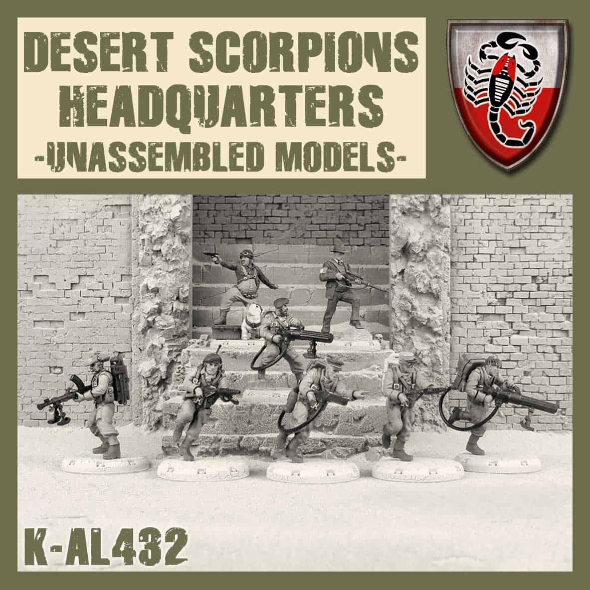 Zdjęcie Desert Scorpion HQ Kit