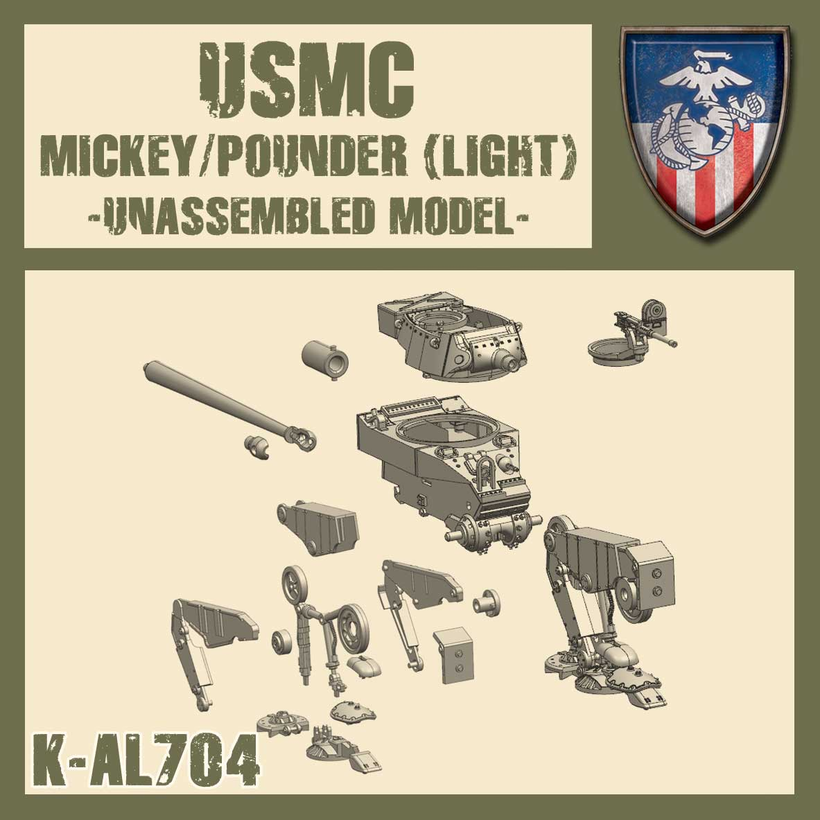 Mickey (Light) / Steel Rain (Light) / Pounder (Light) Kit