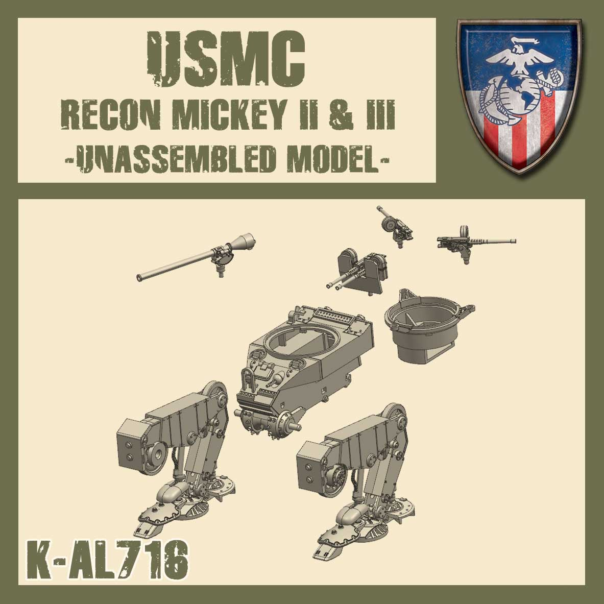 Recon Mickey II&III Kit
