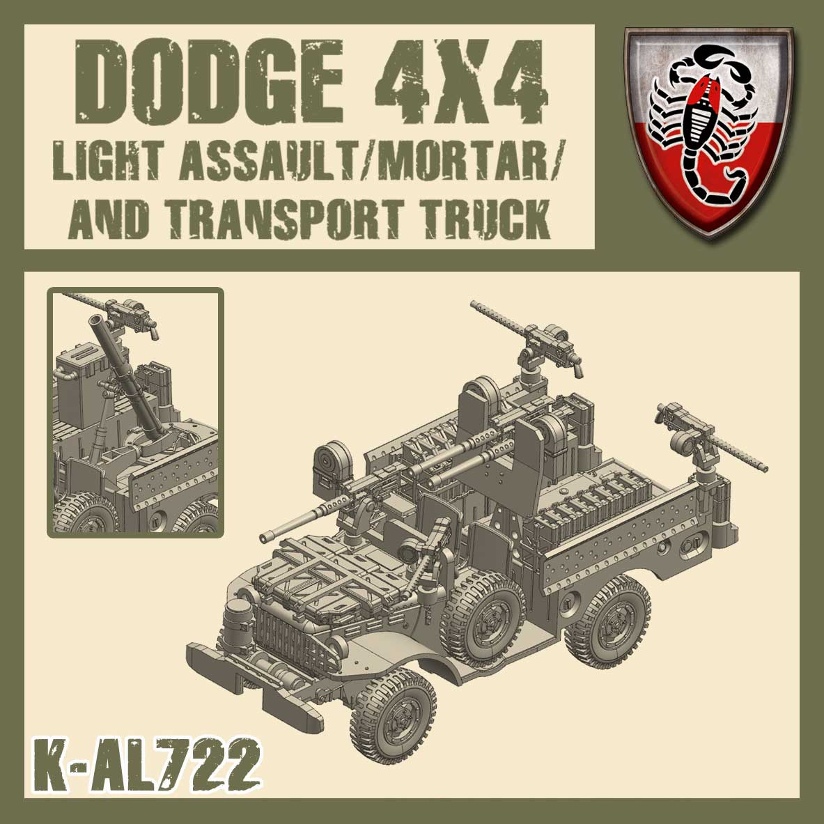 Assault/Mortar Truck  - Kit