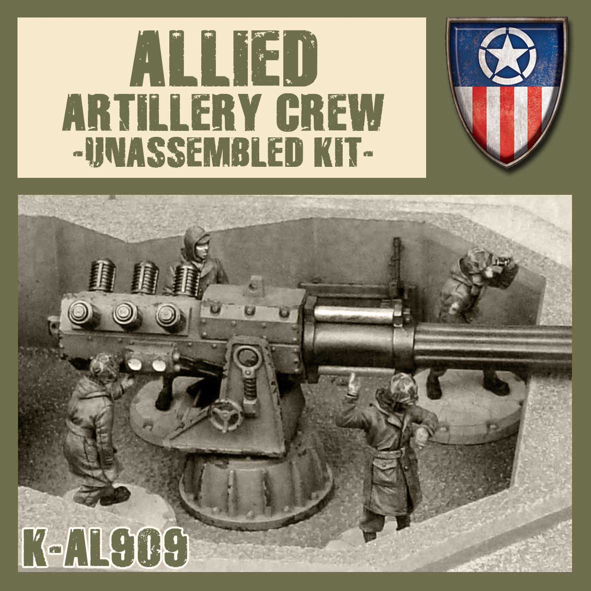 Allied Artillery Crew Kit