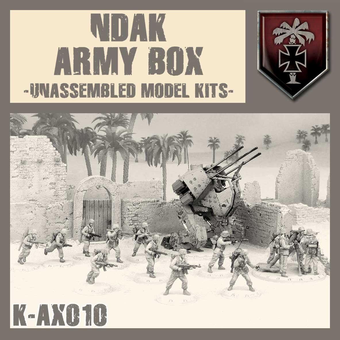 NDAK Army Box Kit