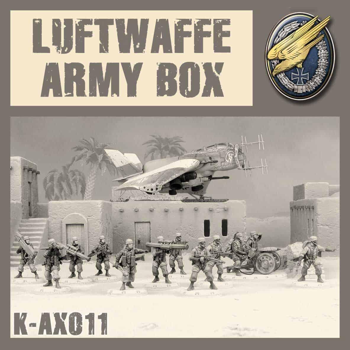 Zestaw Armijny Luftwaffe Kit