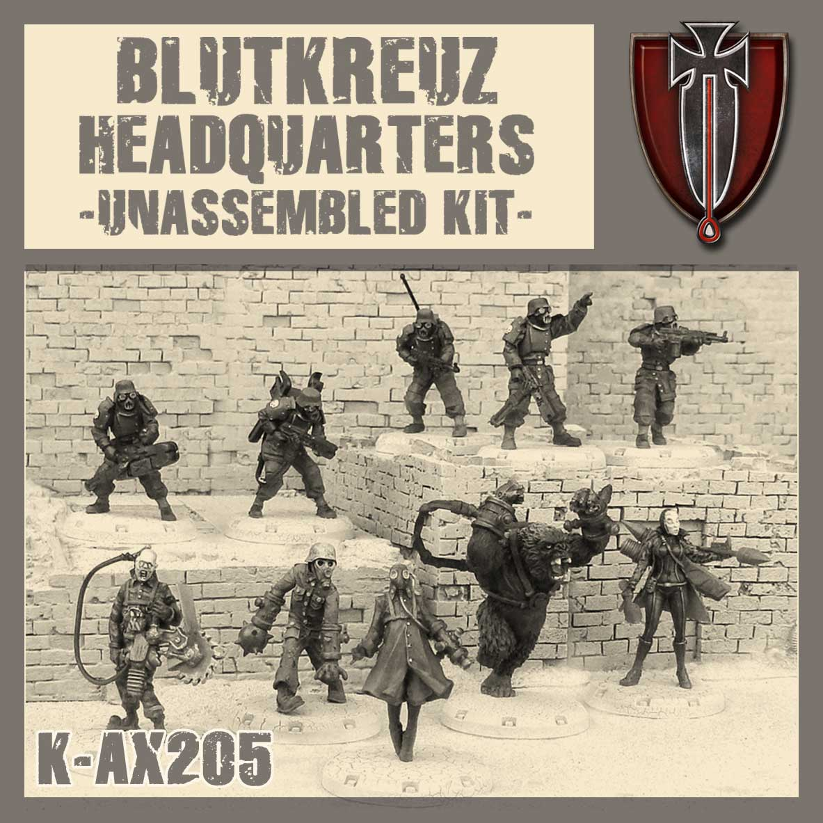 Blutkreuz Headquarters - Kit