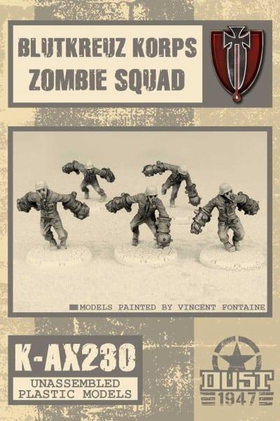 Zdjęcie Blutkreuz Korps Zombie Squad Kit