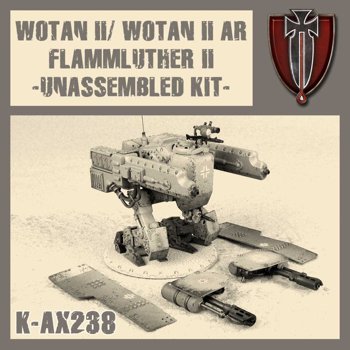 Flamm-Luther II / Wotan II / Wotan II AR Kit