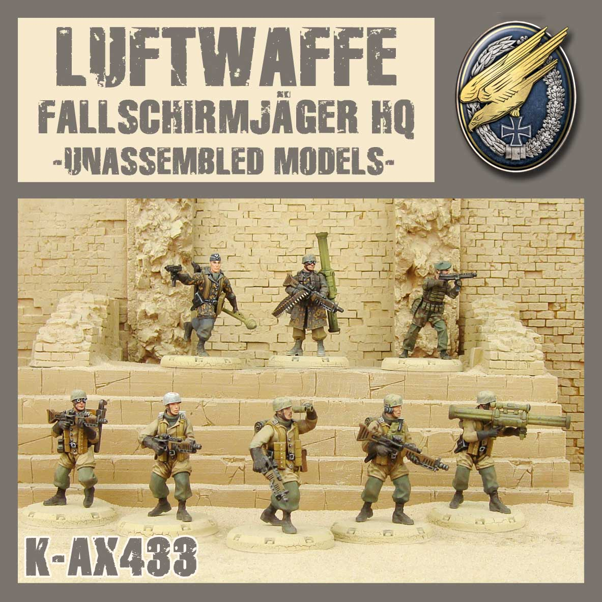 Fallschirmjager HQ Kit