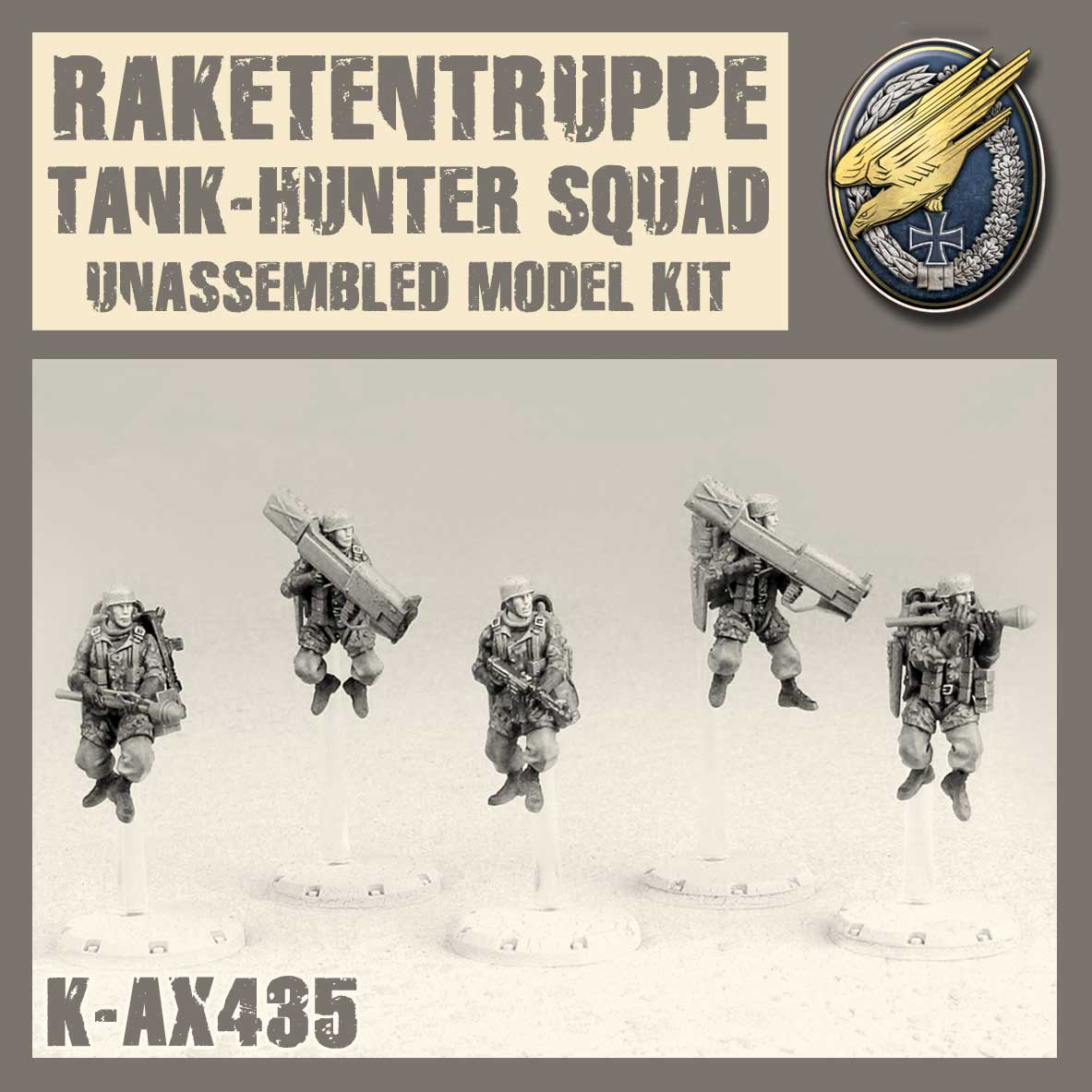 Raketentruppe Tank Hunter Squad Kit