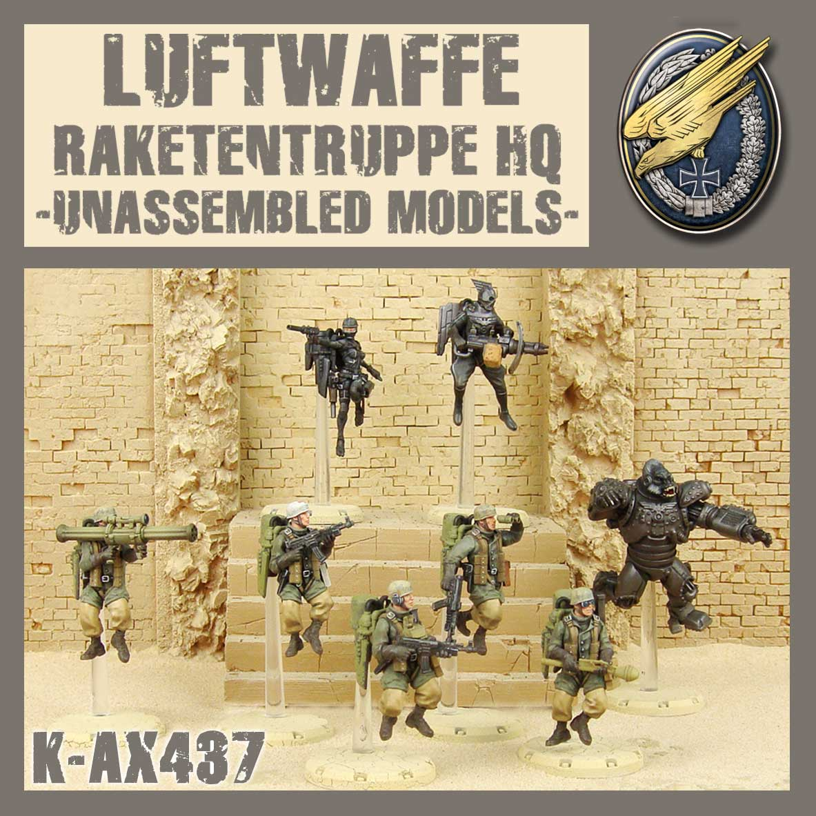 Raketentruppe HQ Kit