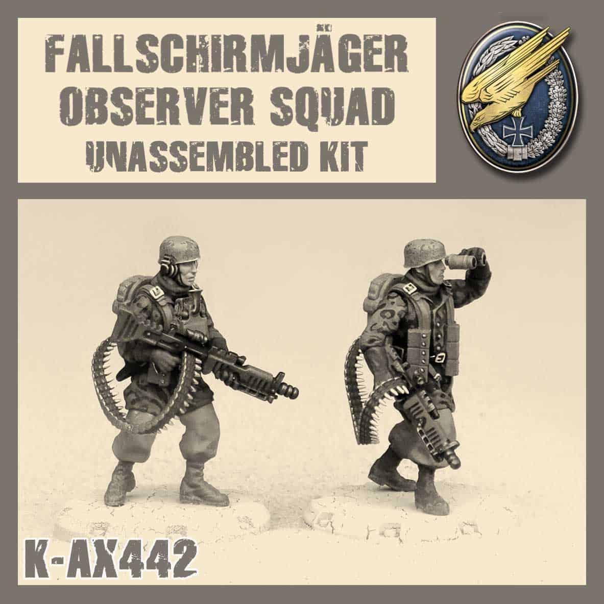 Fallschirmjäger Observer Squad Kit
