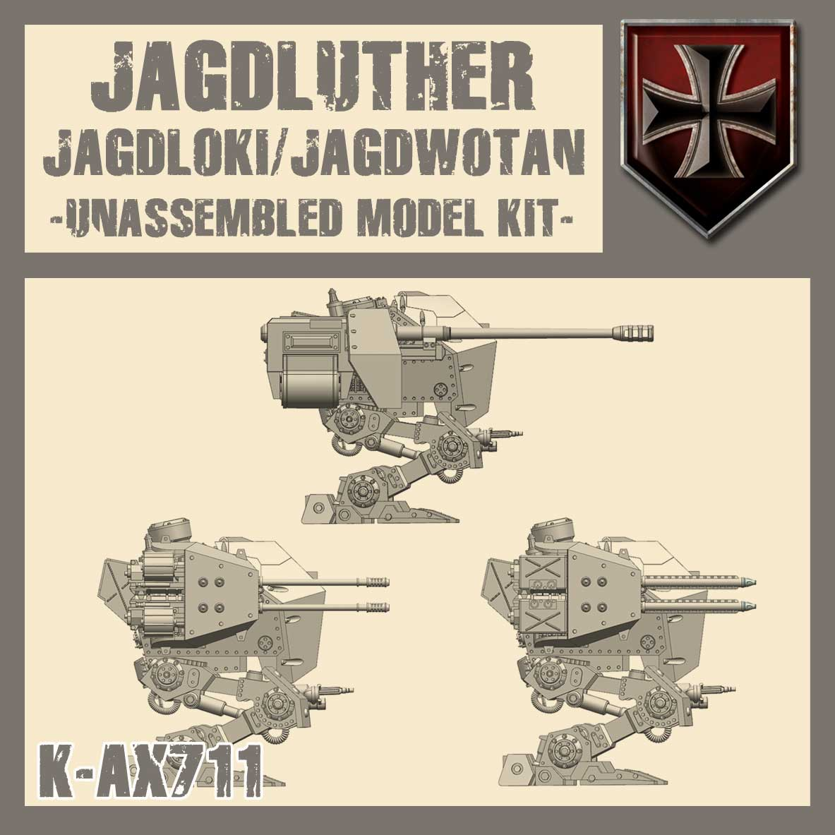 Jagdluther/Jagdwotan Kit