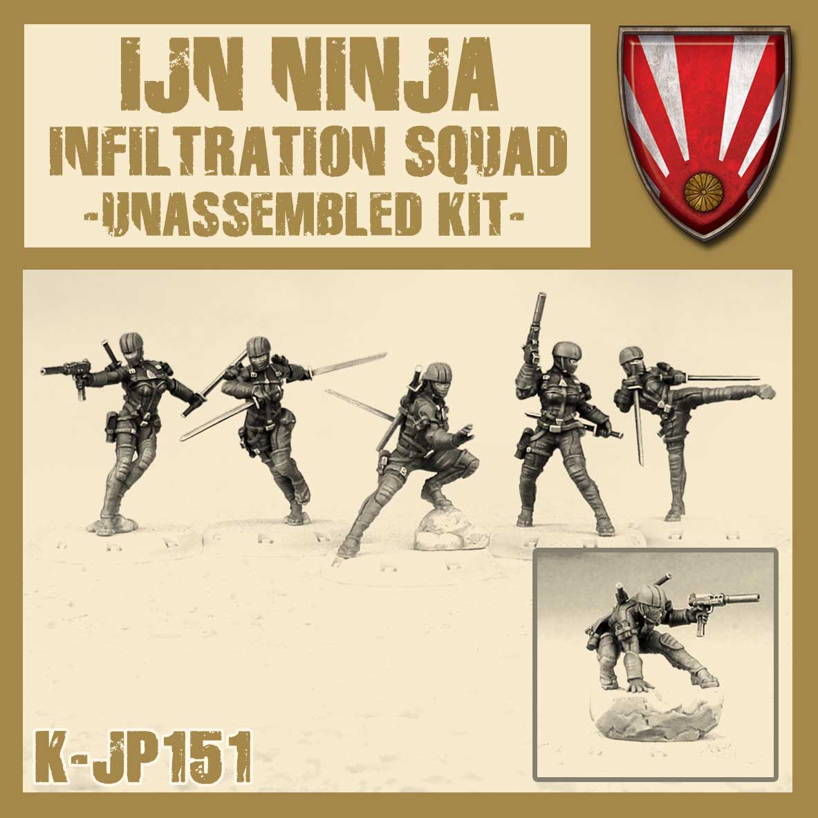 Ninja Infiltration Squad Kit