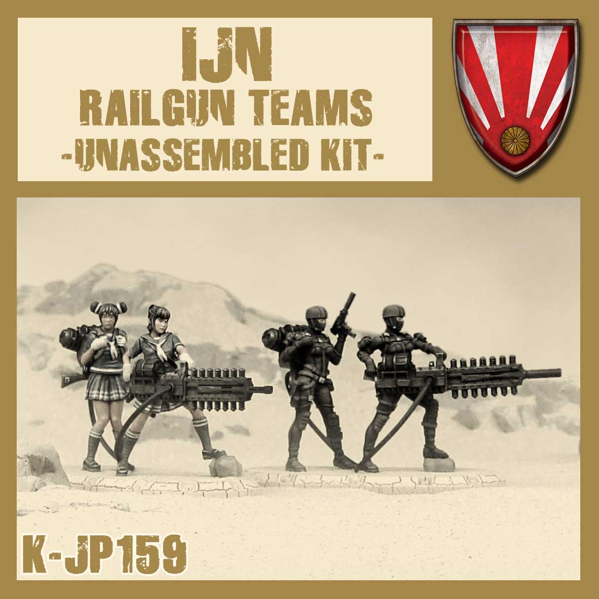 IJN Railgun Teams Kit
