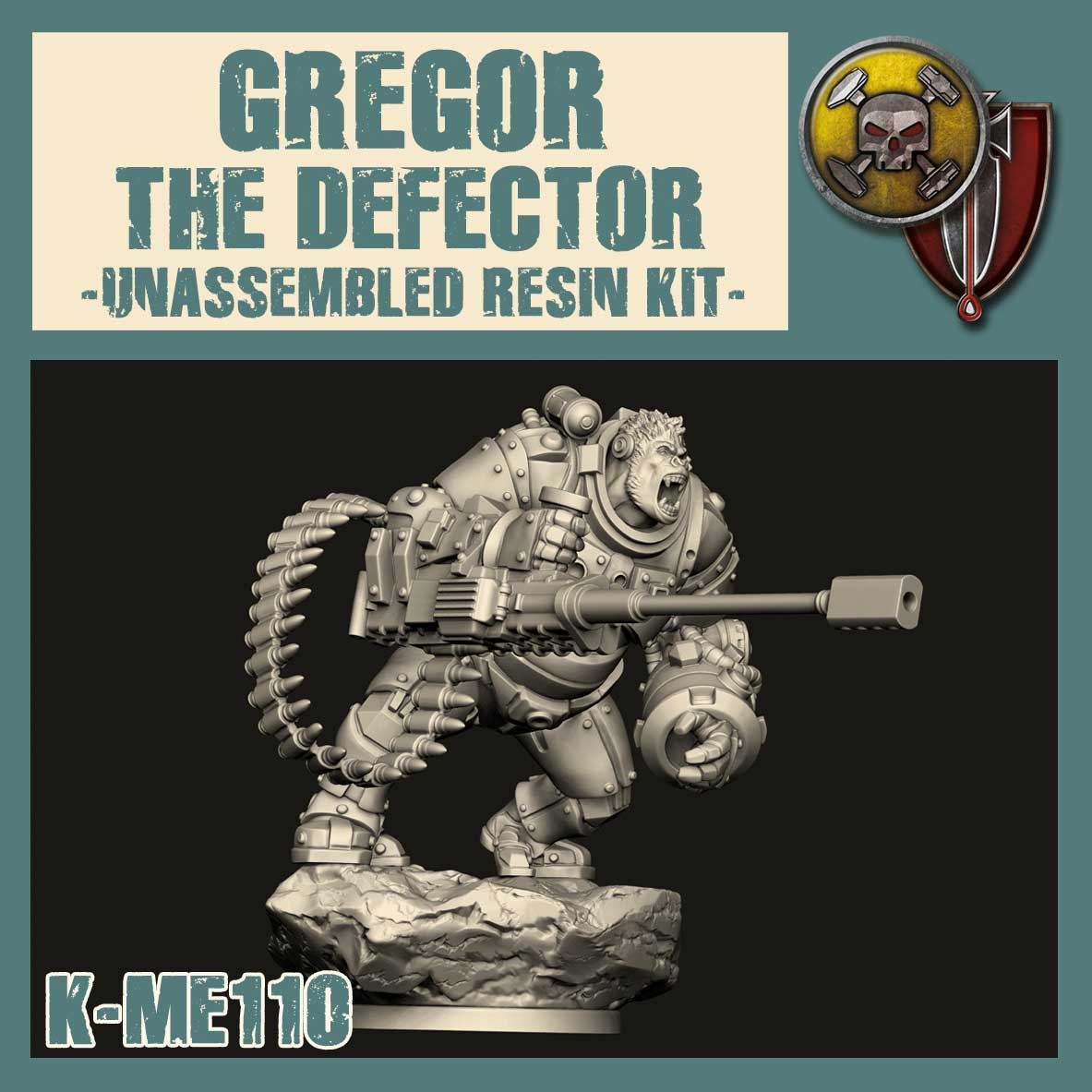 GREGOR THE DEFECTOR Model Kit