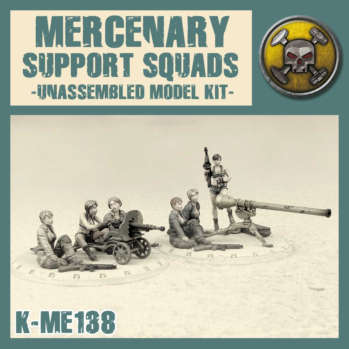 Mercenary Support Squads Kit