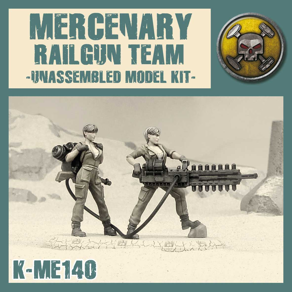Mercenary Railgun Team Kit
