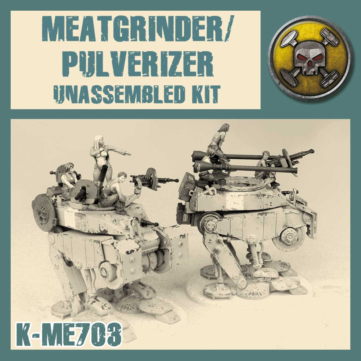 Mercenary Meatgrinder/Pulverizer - Kit