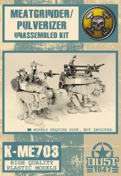 Mercenary Meatgrinder/Pulverizer - Kit