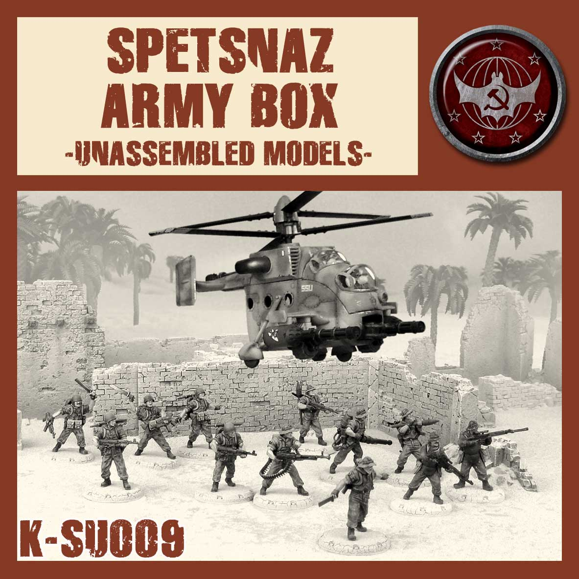 Spetsnaz Army Box Kit