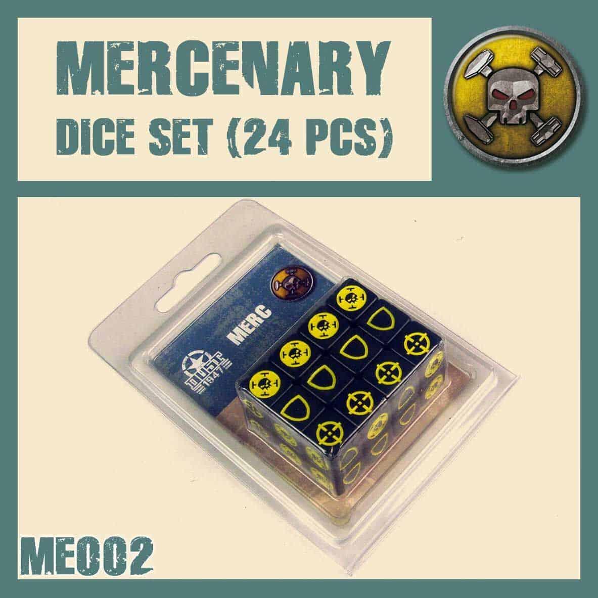 Mercenary DICE SET