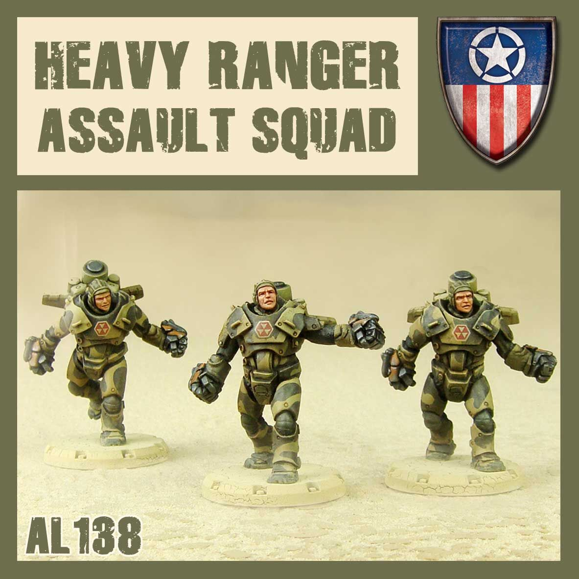 Heavy Ranger Assault Squad