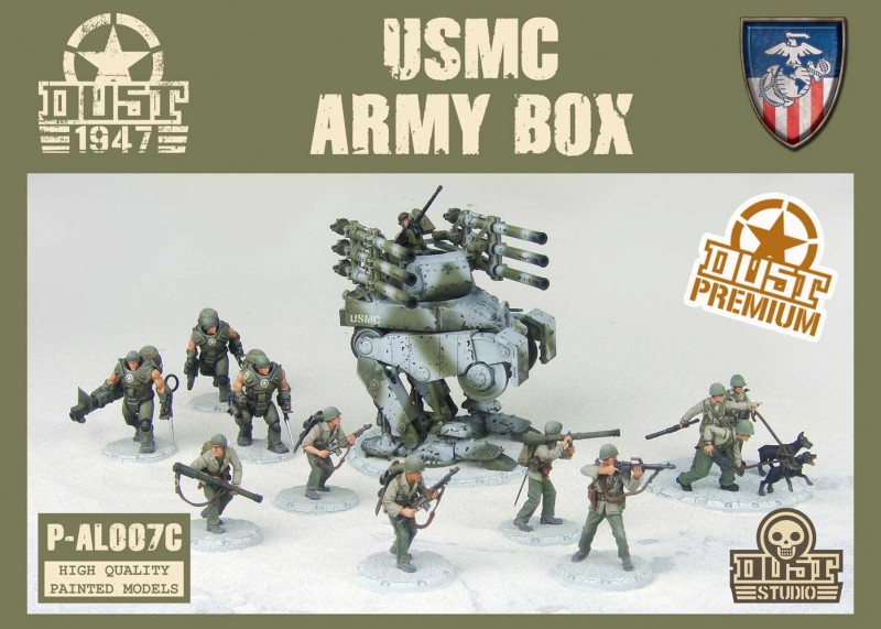USMC Army Box - Cerberus Pattern