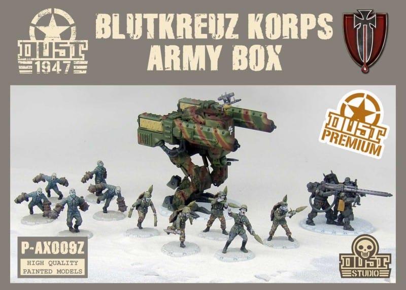 Zestaw Armijny Blutkreuz - Premium (malowanie zimowe)