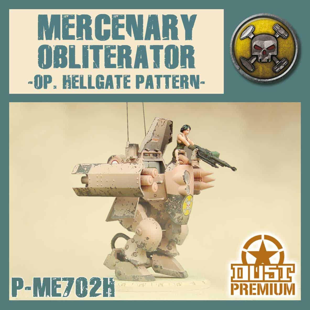 Mercenary Obliterator - Premium (Hellgate)