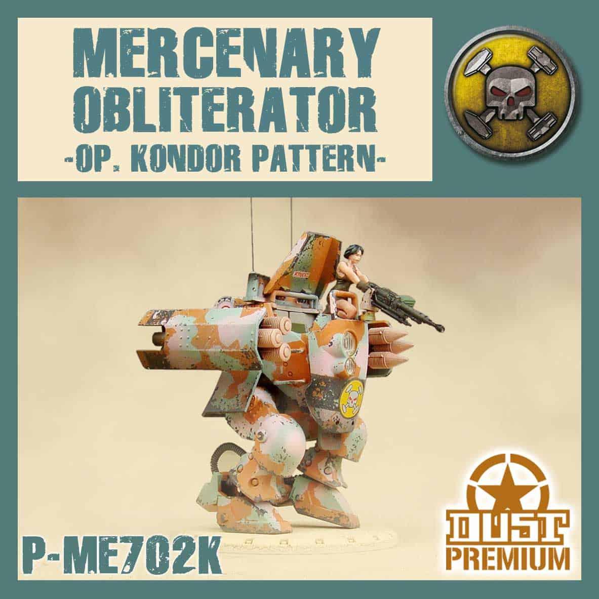 Najemny Obliterator - Premium (Wzór Kondor)