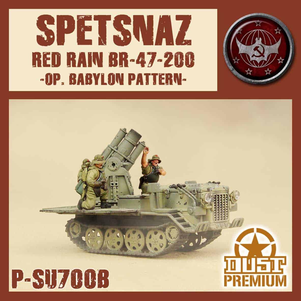 Zdjęcie Red Rain Premium Spetsnaz