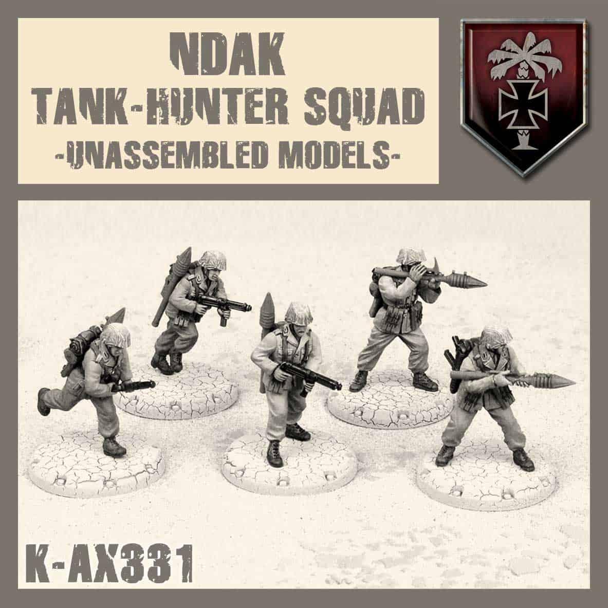 Zdjęcie NDAK Tank Hunter Squad Kit