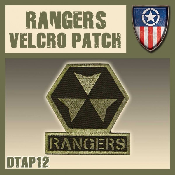 Dust Rangers Velcro Patch