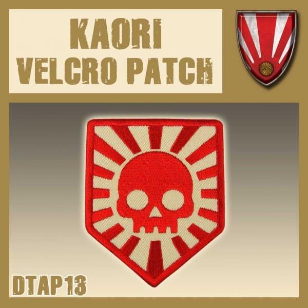 Dust Kaori Velcro Patch
