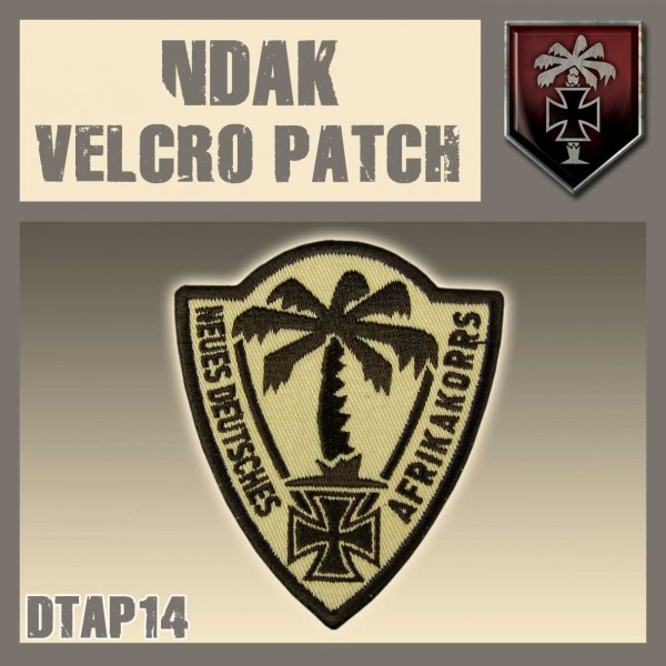 Dust NDAK Velcro Patch
