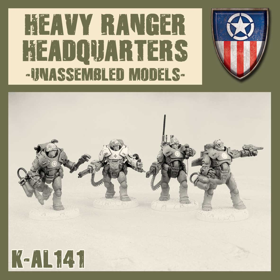 Heavy Rangers HQ Kit